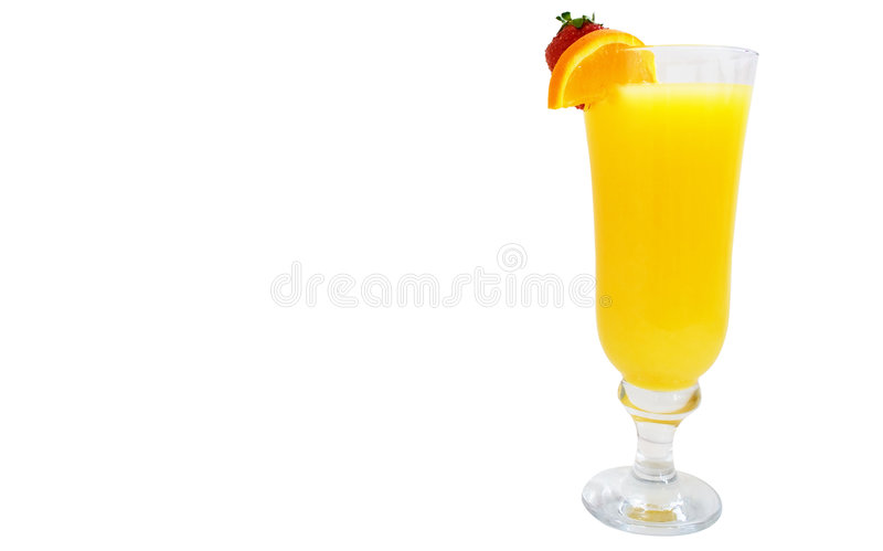 Glass of Cocktail stock image