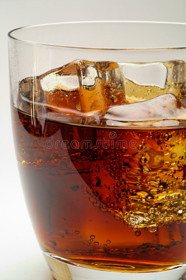 Download Glass Of Cola Drink With Ice Royalty Free Stock Photography - Image: 2507757