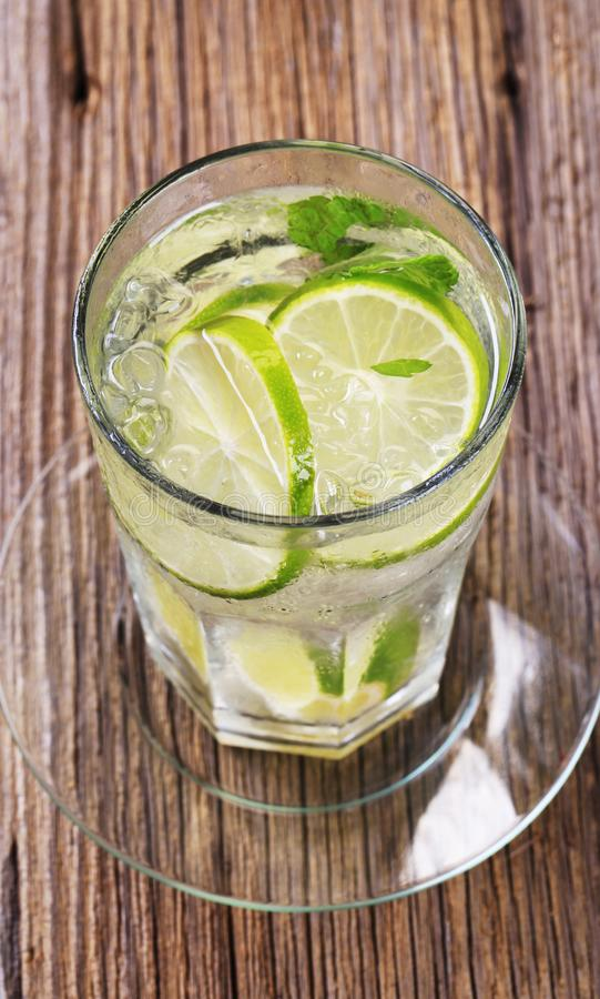 Glass of cold drink royalty free stock photo