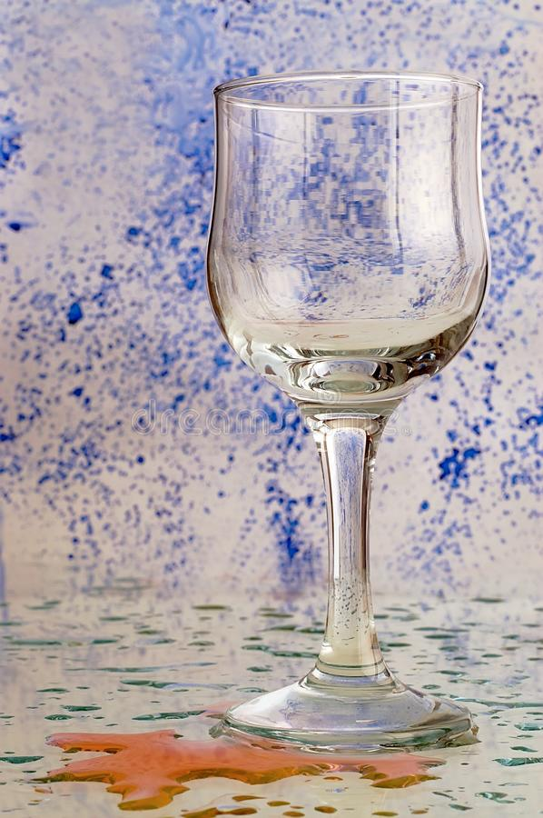Download Glass With A Colored Background Stock Photography - Image: 26608102
