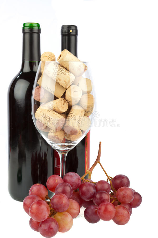 Download Glass of Corkscrews stock photo. Image of different, merlot - 23824510