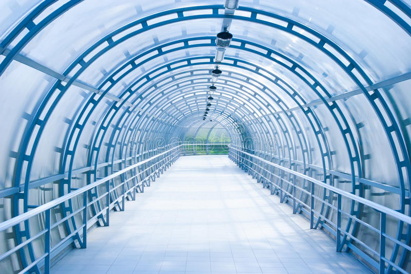Download Glass Corridor In Office Centre Stock Photo - Image: 17518610