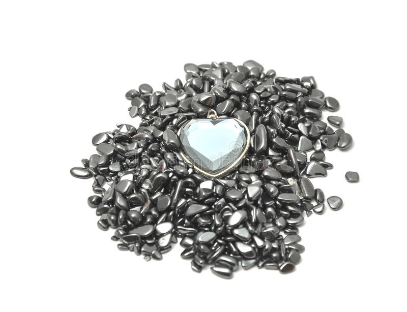 Download Glass Crystal Heart Stock Image - Image: 17087161