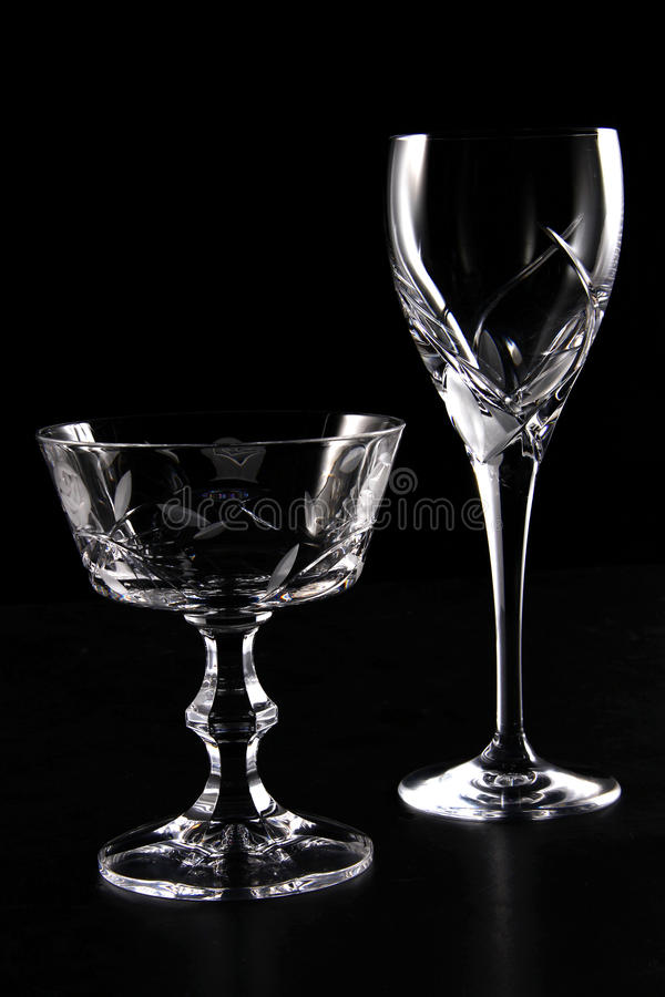 Glass Cups royalty free stock images