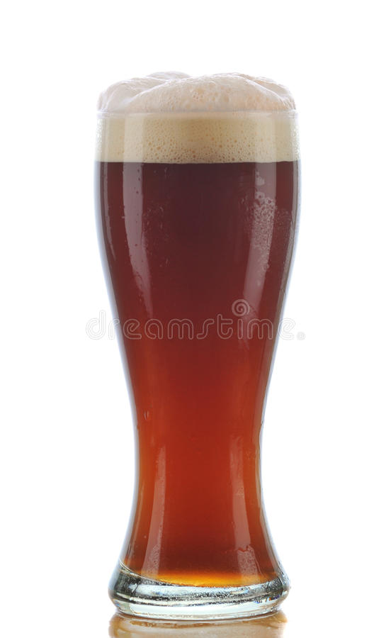 Download Glass of Dark Ale stock image. Image of beverage, drink - 10576091