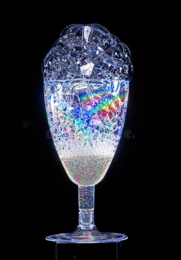 glass deltagare royaltyfri bild