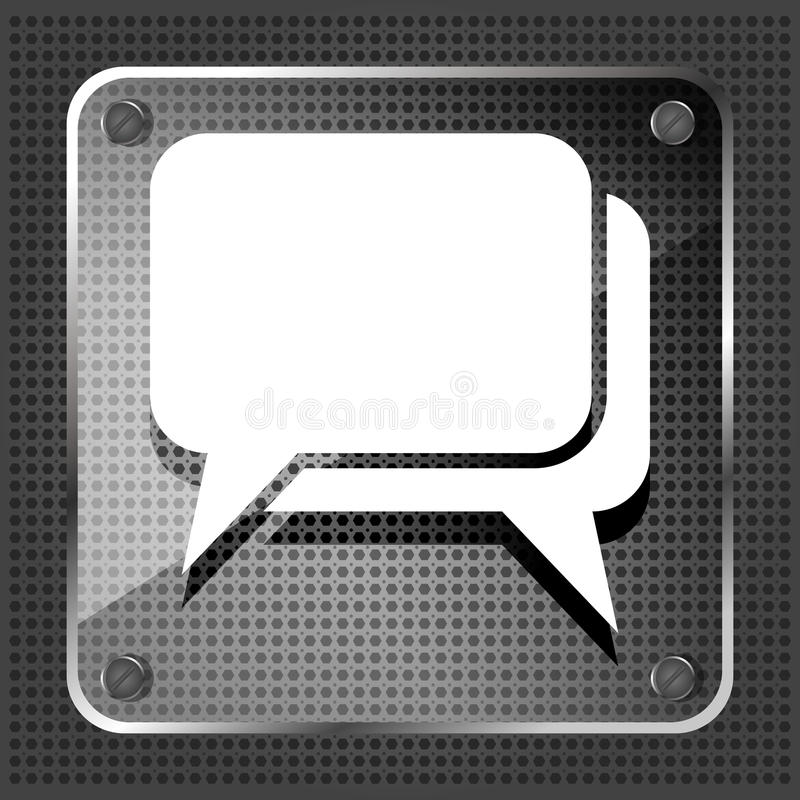 Download Glass dialog icon stock vector. Illustration of graphic - 31889358