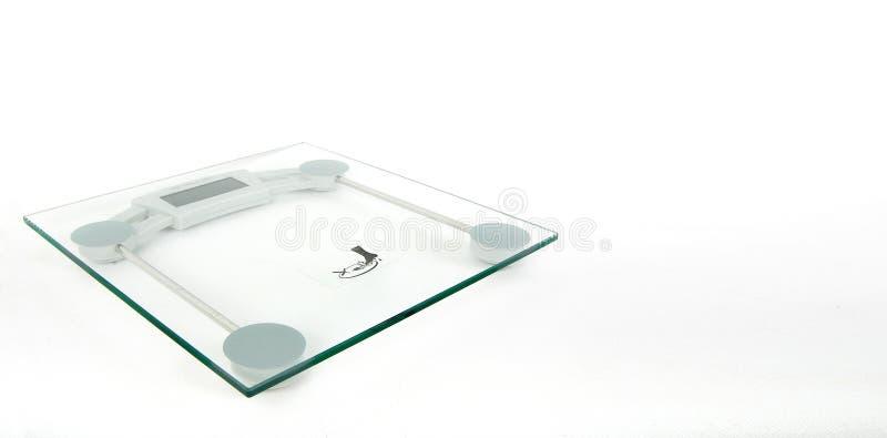Glass Digital Weighing Machine stock photography