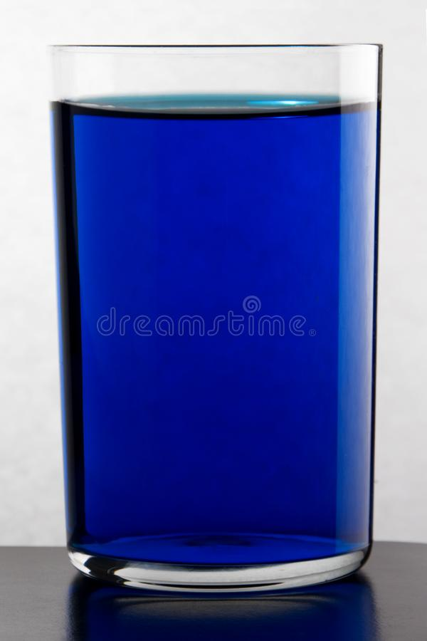 Glass with drink. royalty free stock photography