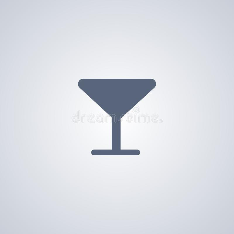 Glass, drink, vector best flat icon stock illustration