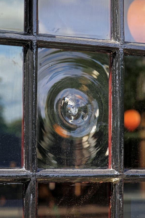 Glass fönster för krona royaltyfri fotografi