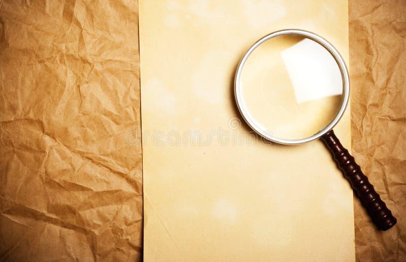 glass förstoring fotografering för bildbyråer