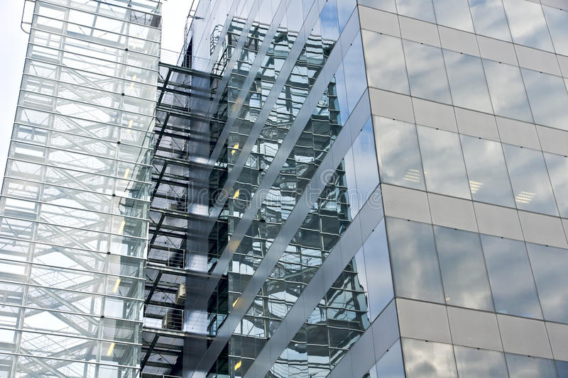 Download Glass facade. stock photo. Image of bright, modern, glass - 22085256