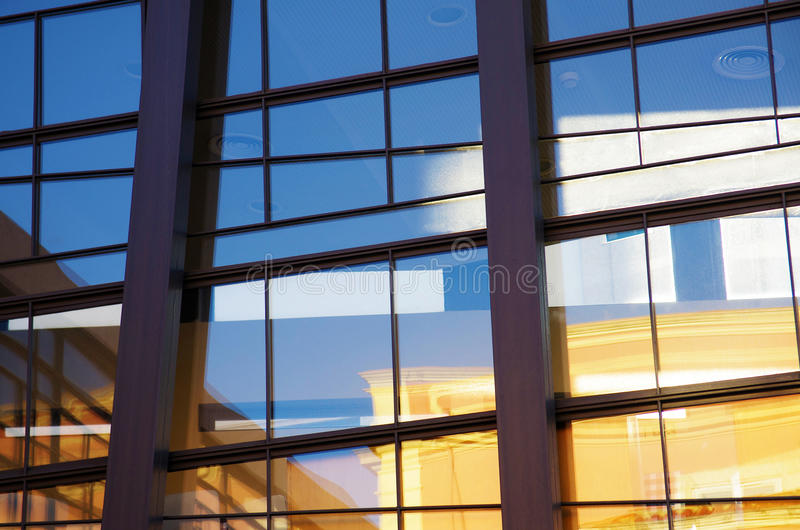 Download Glass Facade stock photo. Image of abstract, estate, construction - 23173928