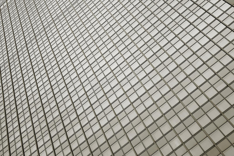 Glass facade. Of a hotel in Berlin stock image