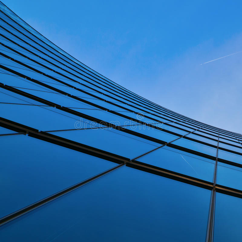 Download Glass Facade Of An Office Tower Stock Image - Image: 25040109