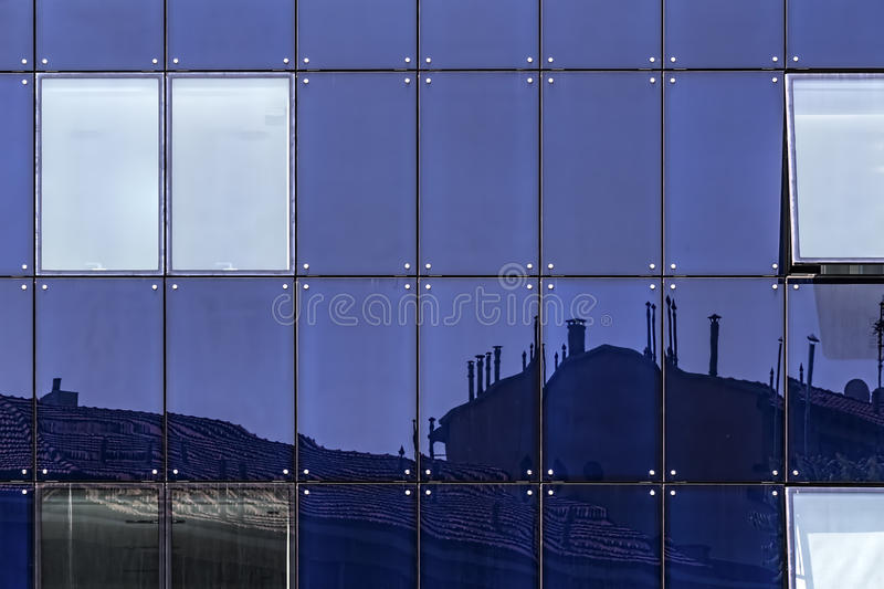 Glass facade of windows stock image image 32054521 for Exterior glass wall texture