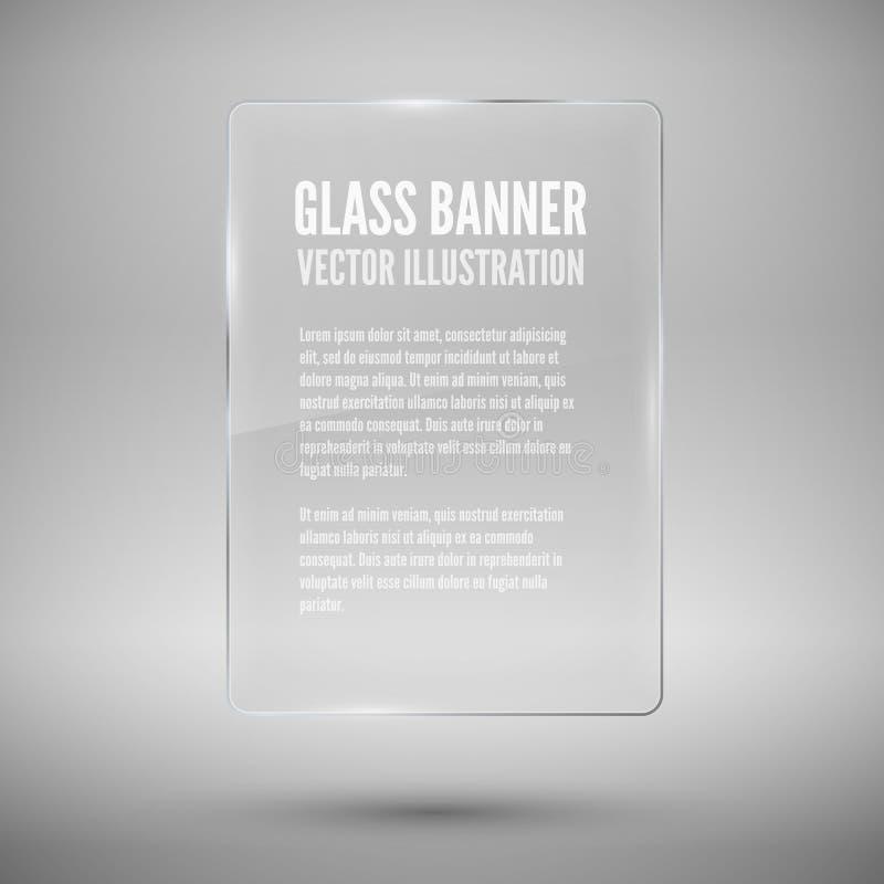 Glass framework. Vector illustration. vector illustration