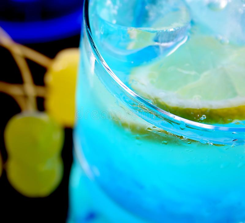 Glass of fresh drink royalty free stock photography