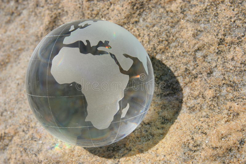 Download Glass Globe stock photo. Image of shells, countries, tourism - 22312422