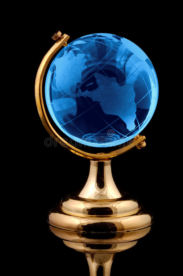 Glass Globe stock image
