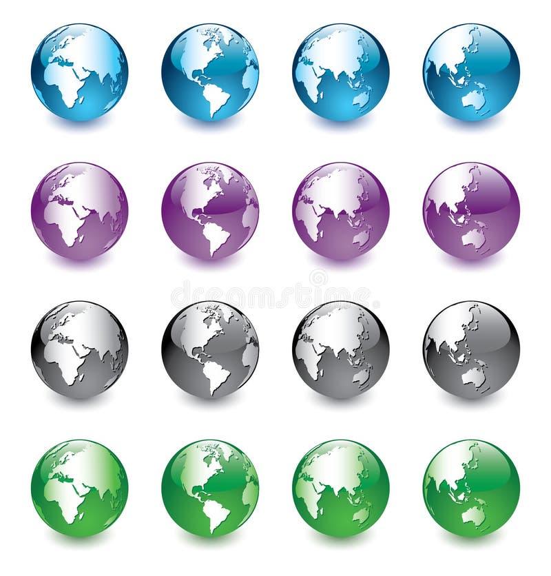 Glass_globe lizenzfreie abbildung