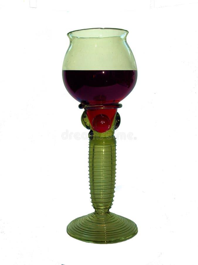 glass grönt medeltida royaltyfri foto