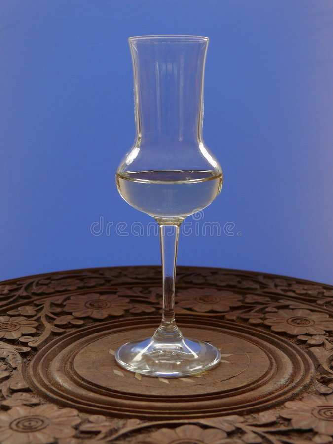 Free Glass Grappa Royalty Free Stock Photography - 7376787