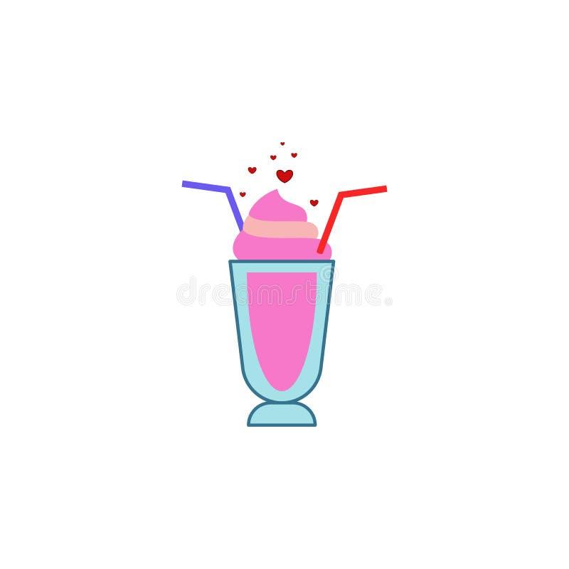 Glass hjärta, förälskelse, valentine'sdagsymbol Beståndsdel av färgvalentin \ 's-dagen Högvärdig kvalitets- symbol för grafisk  vektor illustrationer