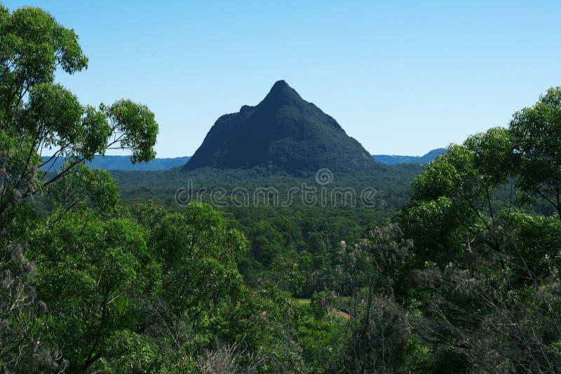 Glass House Mountains National park in Australia. royalty free stock photo