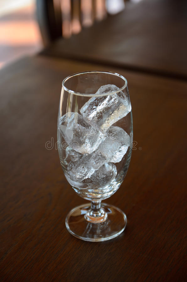 Download Glass with ice stock image. Image of clear, cold, object - 38013561