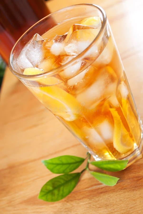 Glass Of Ice Tea Royalty Free Stock Photo
