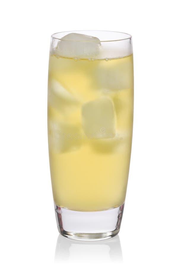 Glass of Iced Green Tea stock photos