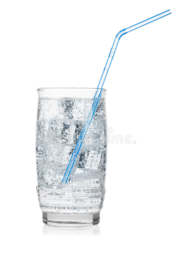 Download Glass Of Iced Mineral Water Stock Photo - Image: 23551174
