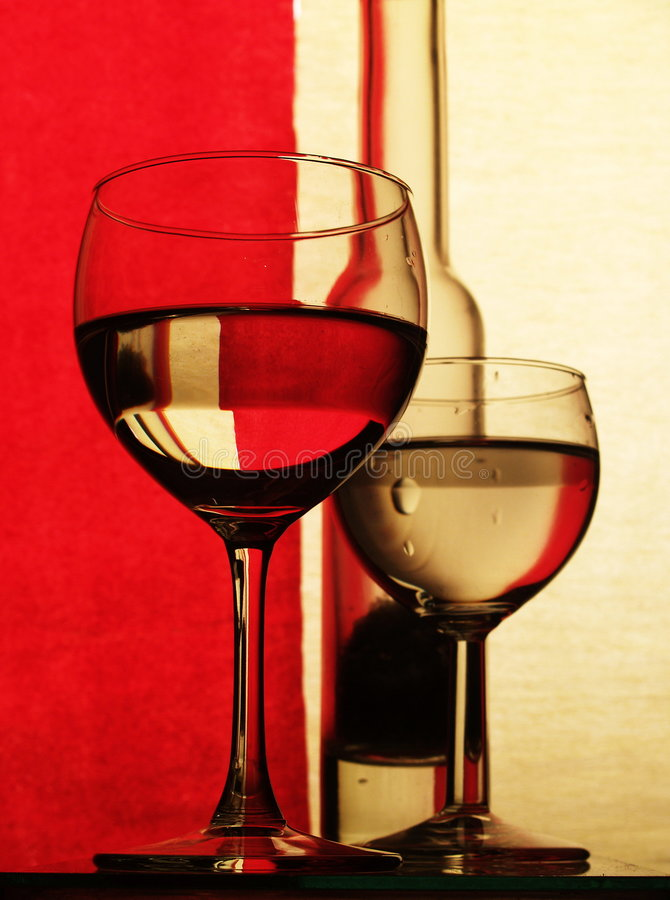 Free Glass In Colour Royalty Free Stock Images - 537629