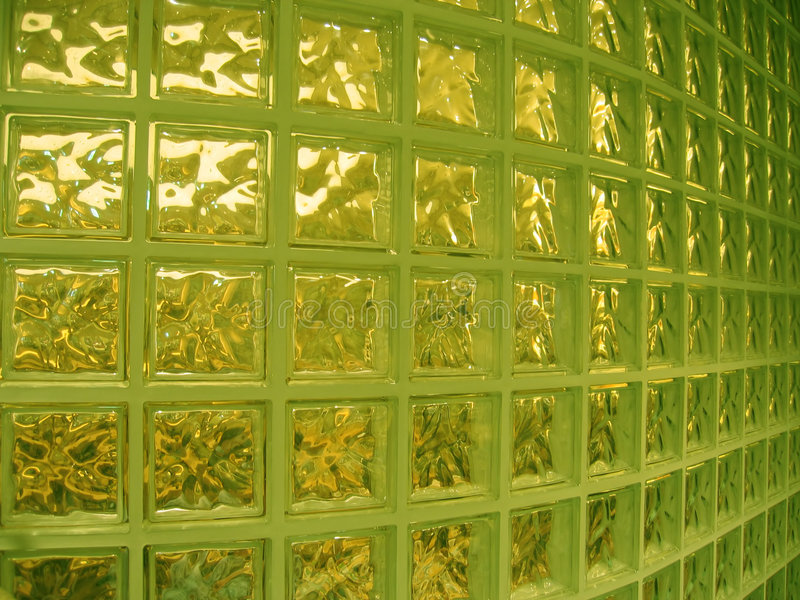 Glass Innervägg Fotografering för Bildbyråer