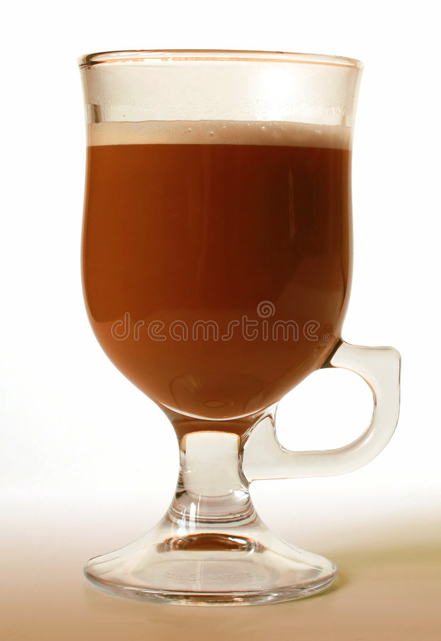 Download Glass of irish coffee stock photo. Image of eating, gourmet - 8648568