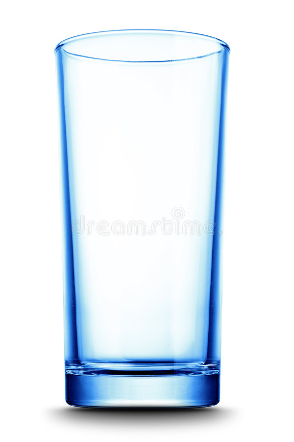 Glass isolated royalty free stock image