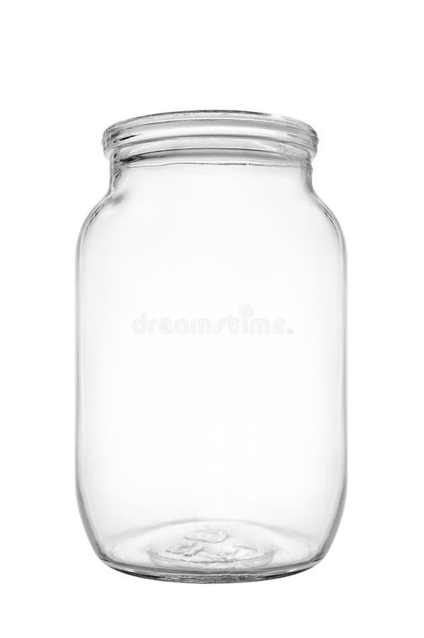 Glass jar royalty free stock photos