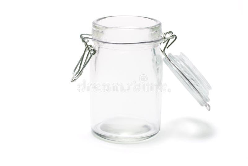 glass jar royaltyfri fotografi