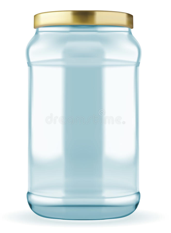 Download Glass jar stock vector. Illustration of background, industry - 32466462
