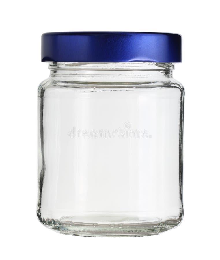 Glass jar royalty free stock photography