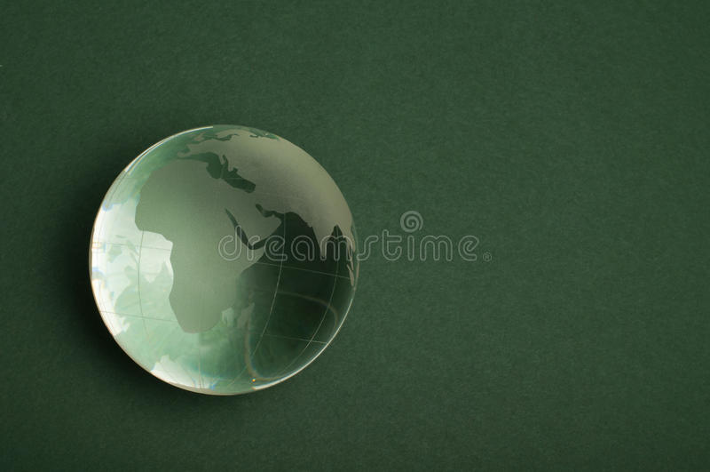 Glass jordklot royaltyfria foton