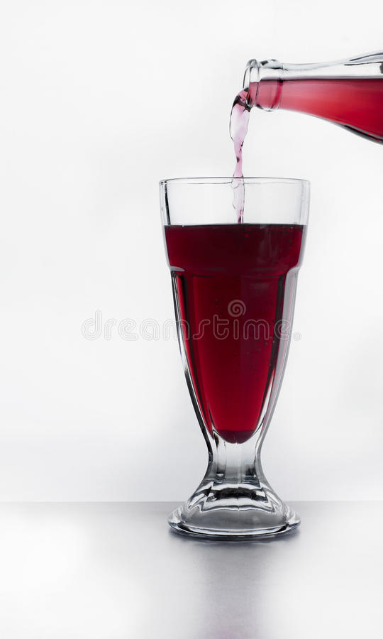 Download A glass of juice stock image. Image of cherry, isolated - 18451881