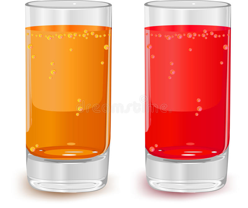 Download Glass of juice stock vector. Illustration of isolated - 9839897