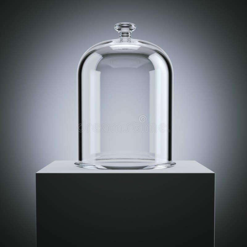 Glass klocka framförande 3d vektor illustrationer