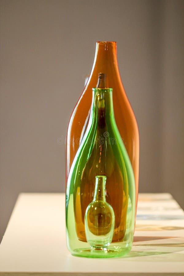 Glass konststycke royaltyfri bild