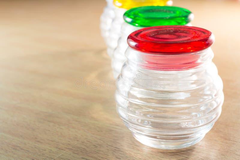 Glass kopp arkivbild