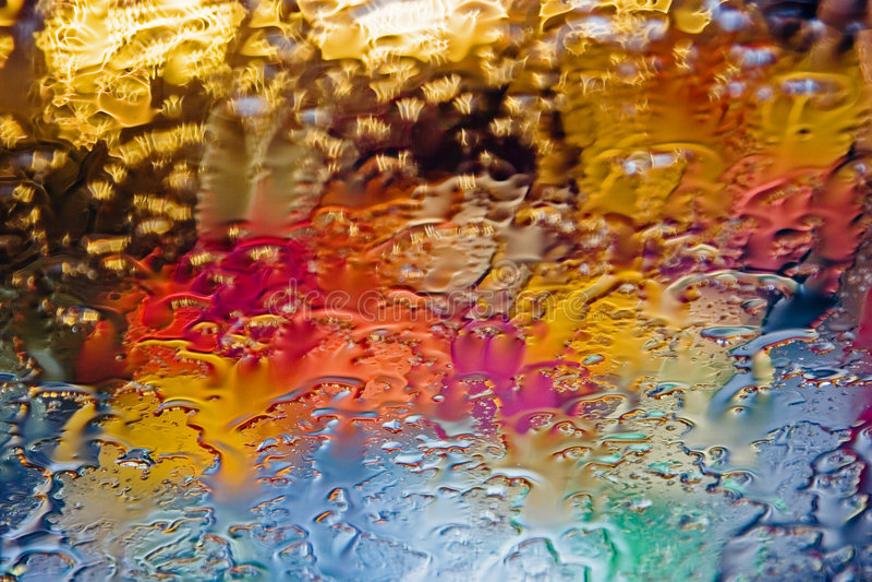glass kulöra droppar royaltyfria bilder
