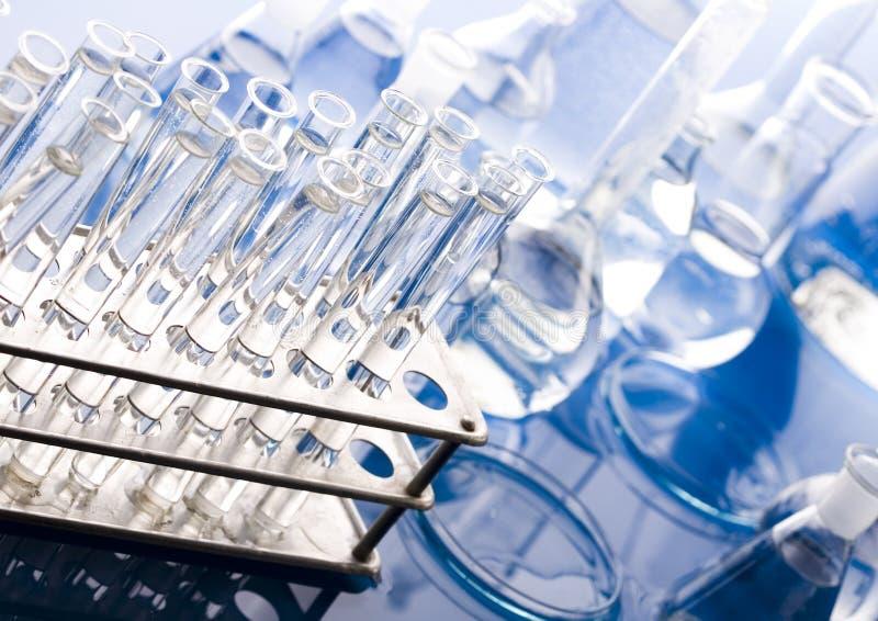 glass laboratorium royaltyfria foton